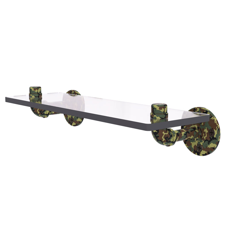 Camo Collection 16 Inch Glass Shelf