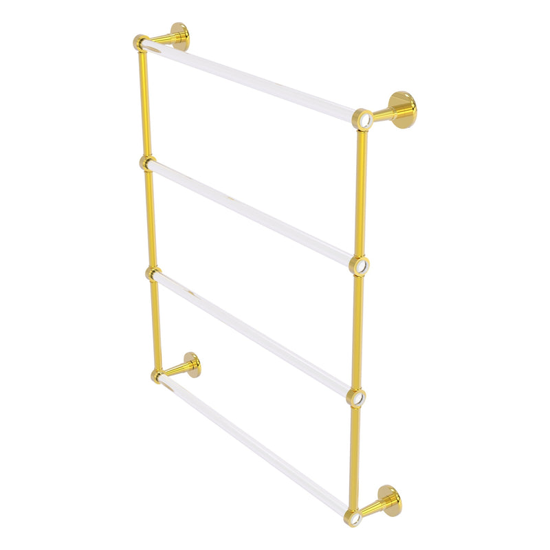 Clearview Collection 4 Tier Ladder Towel Bar with Smooth Accents