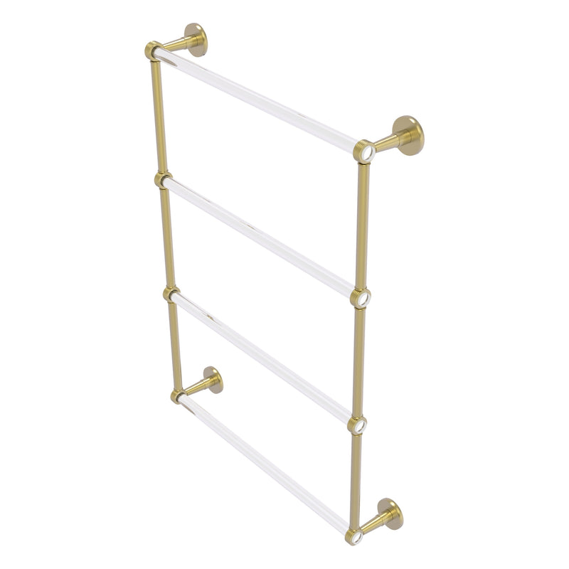 Clearview Collection 4 Tier Ladder Towel Bar with Grooved Accents
