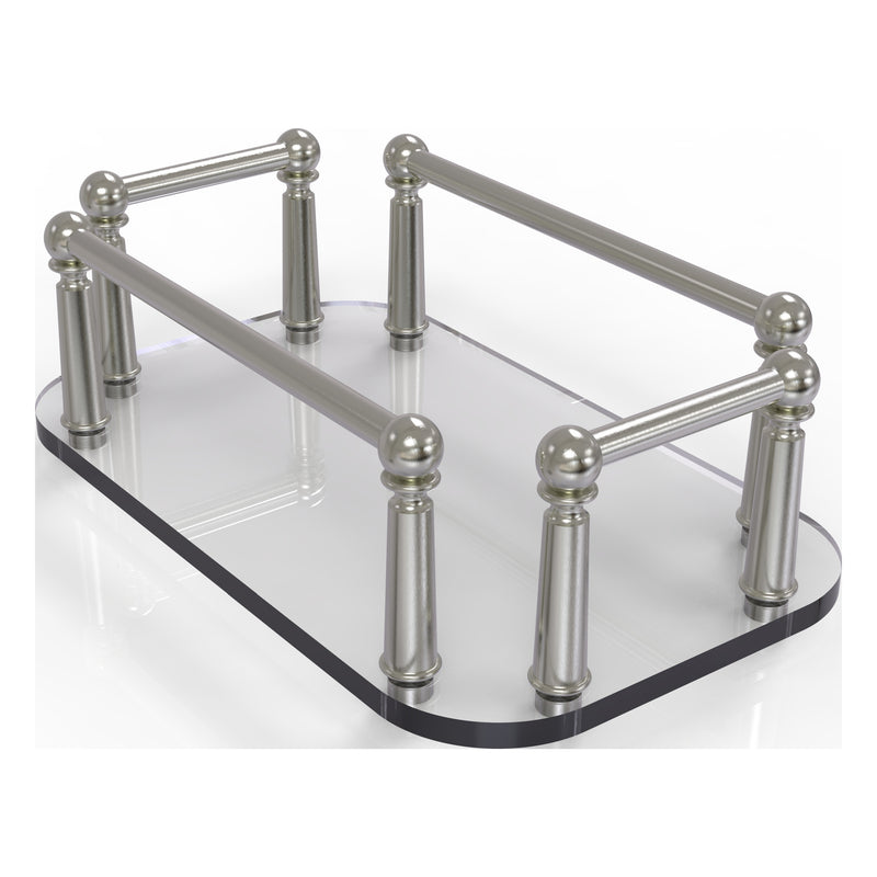 Vanity Top Glass Guest Towel Tray