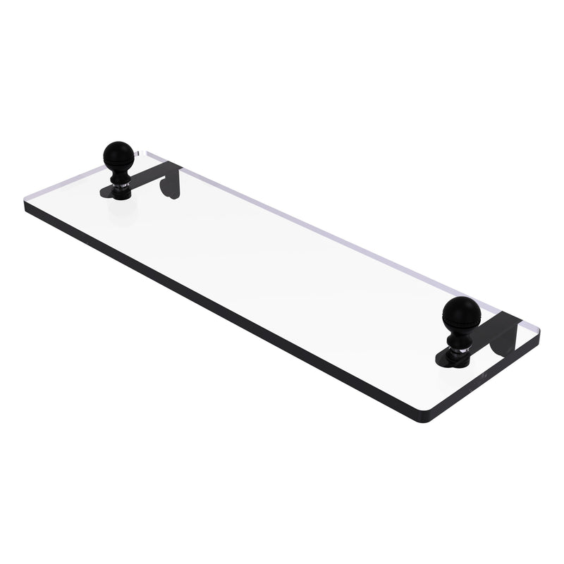 Mambo Collection Glass Vanity Shelf with Beveled Edges