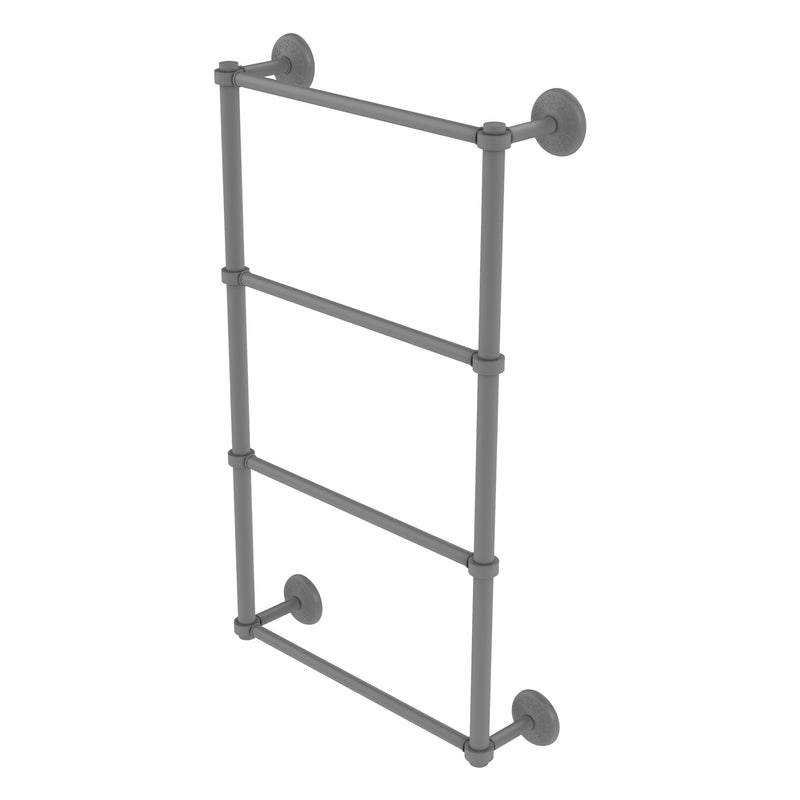 Monte Carlo Collection 4 Tier Ladder Towel Bar With Smooth Accents