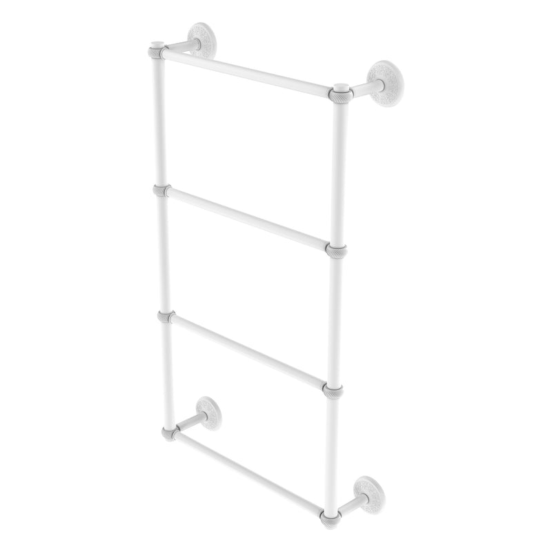 Monte Carlo Collection 4 Tier Ladder Towel Bar with Twisted Accents