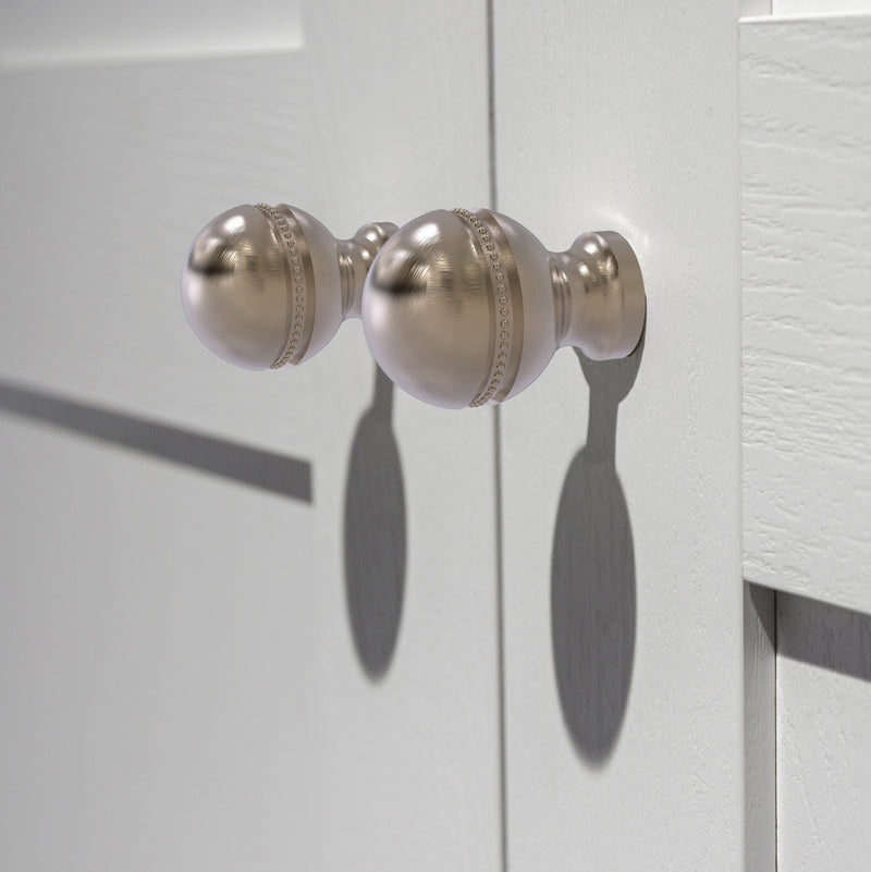 1 Inch Beaded Cabinet Knob