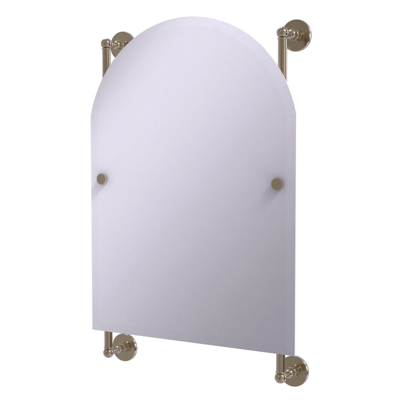 Prestige Skyline Collection Arched Top Frameless Rail Mounted Mirror
