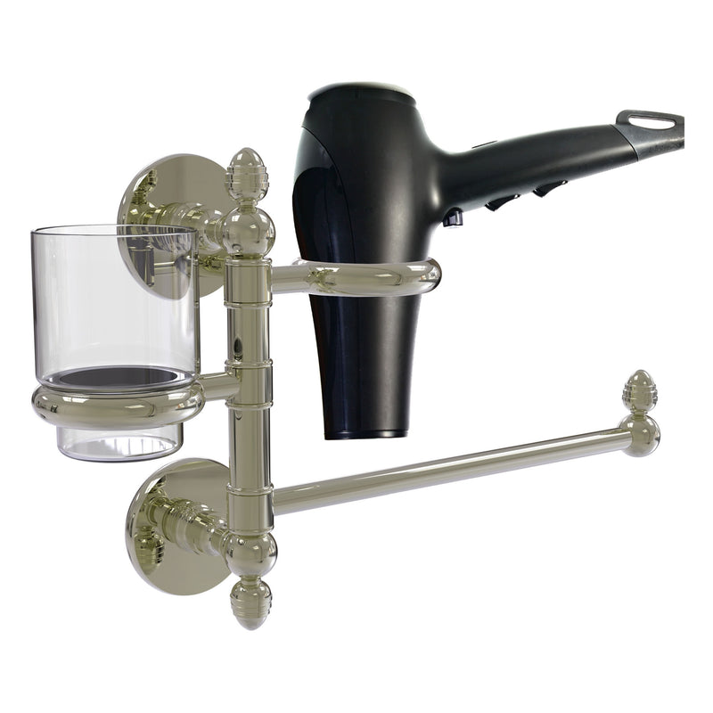 Prestige Skyline Collection Hair Dryer Holder and Organizer