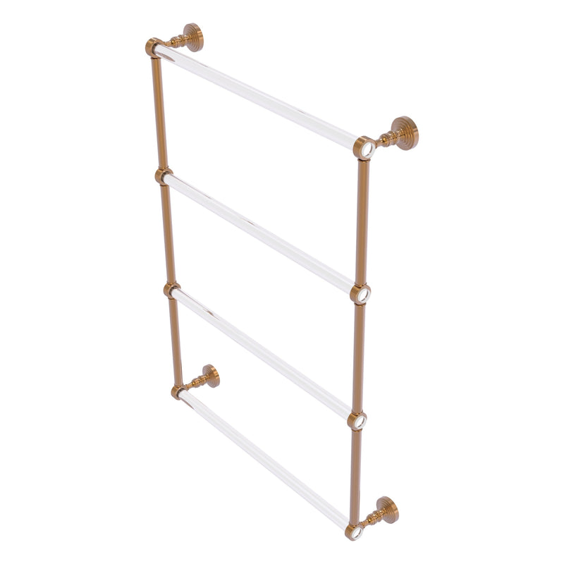 Pacific Grove Collection 4 Tier Ladder Towel Bar with Grooved Accents
