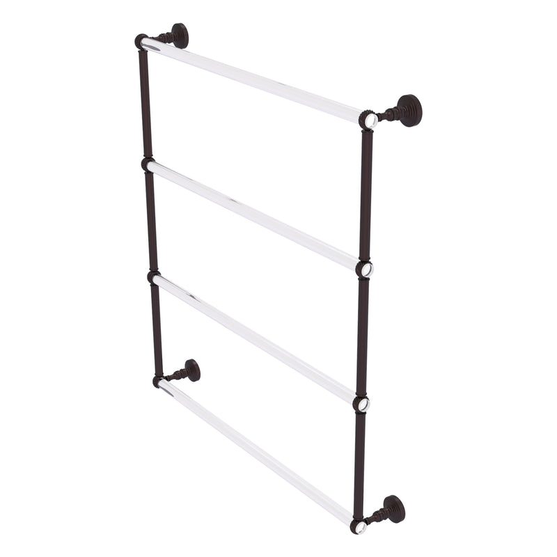 Pacific Grove Collection 4 Tier Ladder Towel Bar with Twisted Accents