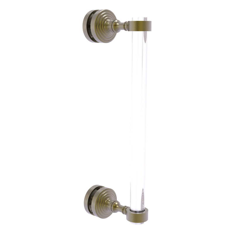 Pacific Grove Collection Single Side Shower Door Pull with Smooth Accents