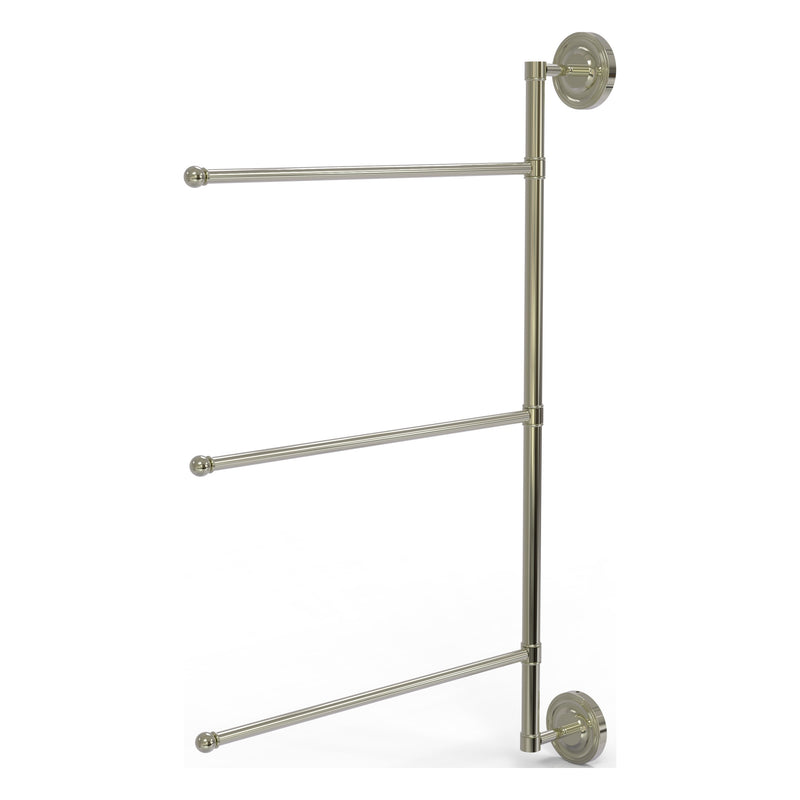 3 Swing Arm Vertical 28 Inch Towel Bar