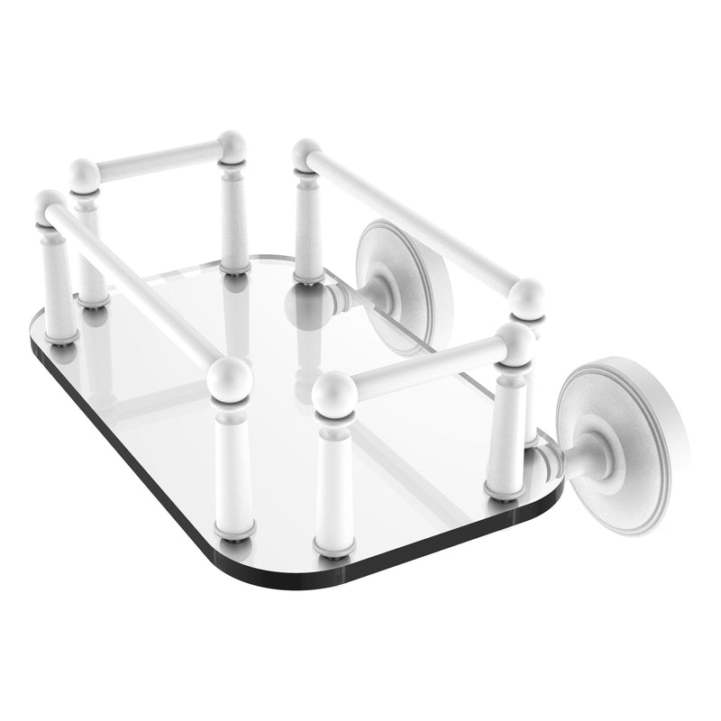 Prestige Regal Collection Wall Mounted Glass Guest Towel Tray