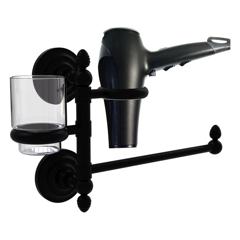 Que New Collection Hair Dryer Holder and Organizer