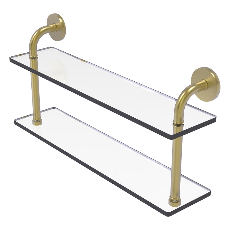 Remi Collection Two Tiered Glass Shelf