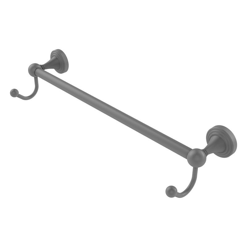 Sag Harbor Collection Towel Bar with Integrated Hooks