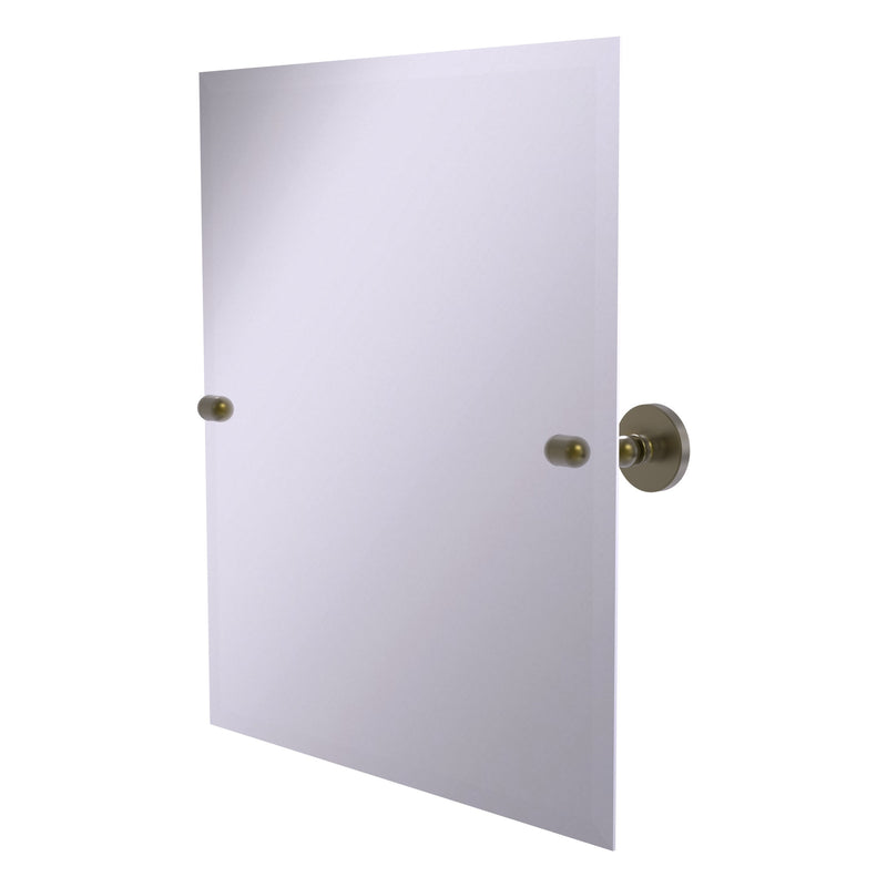 Frameless Rectangular Tilt Mirror with Beveled Edge