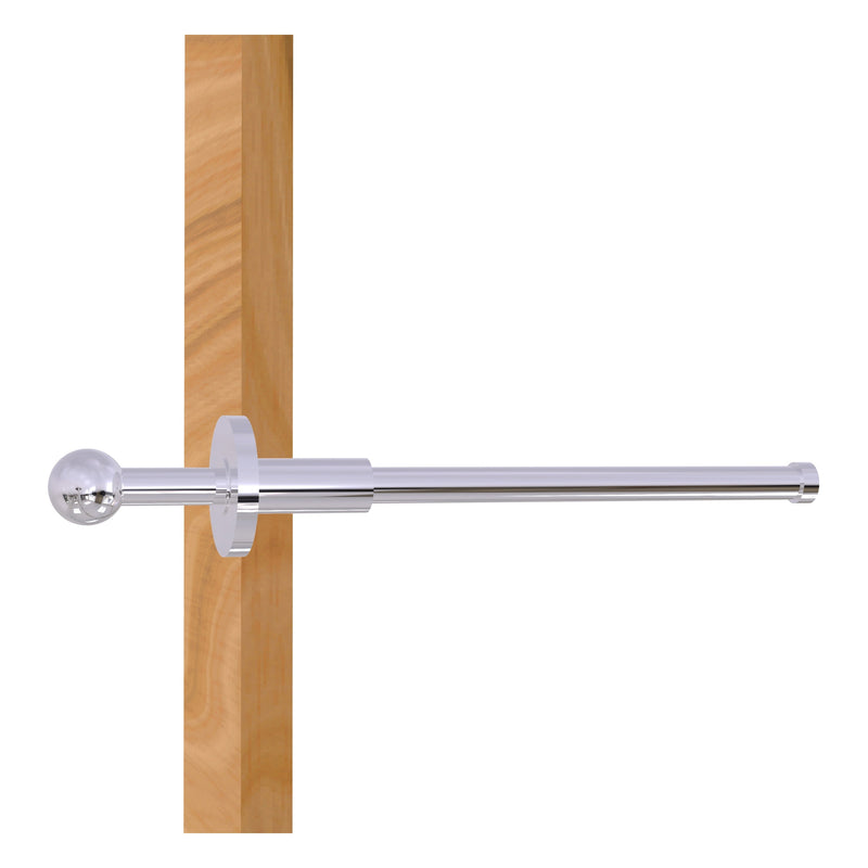 Traditional Retractable Pullout Garment Rod