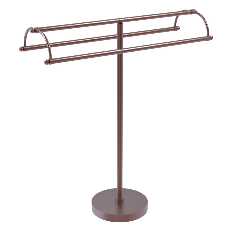 Freestanding Double Arm Towel Valet