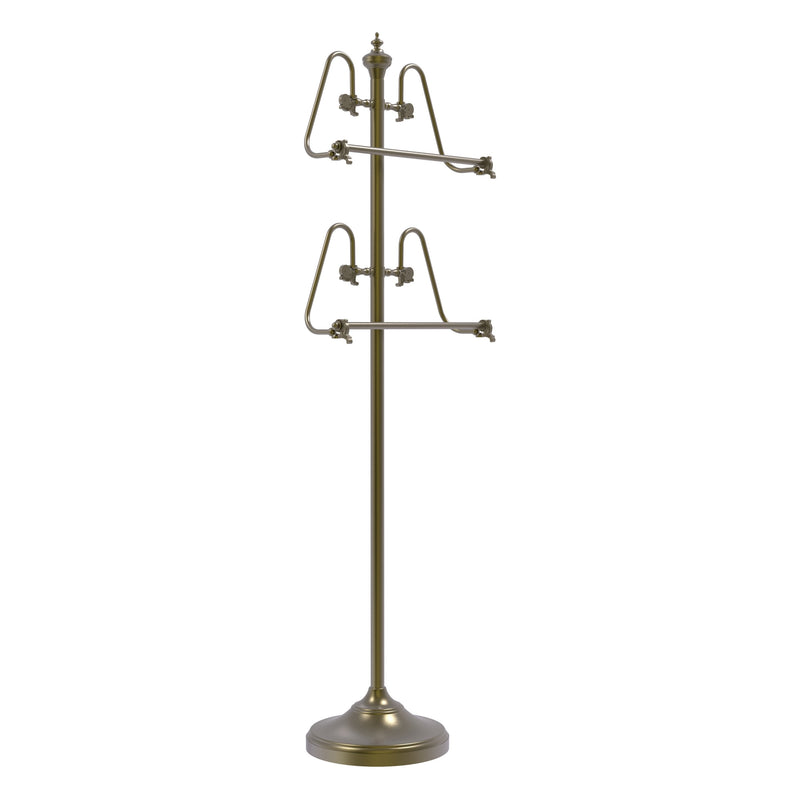 Freestanding 49 Inch High Towel Stand