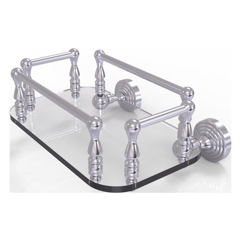 Waverly Place Collection Wall Mounted Glass Guest Towel Tray