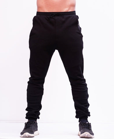 BASIC TRACKPANTS - BLACK