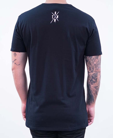 Four Corners Tee - Black
