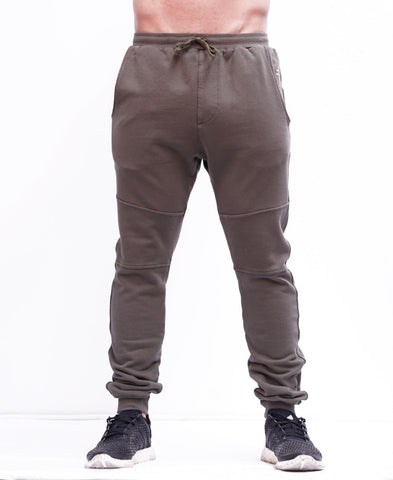 BASIC TRACKPANTS - KHAKI