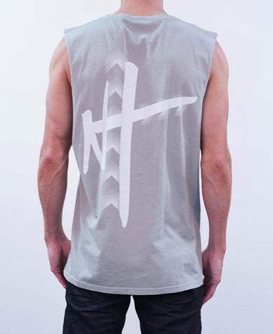 Home Grown Muscle Tee - Dark Gray