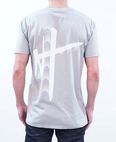Signature Embroidered Tee - White
