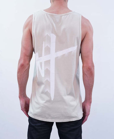 Circle Arrow Tee - Gray
