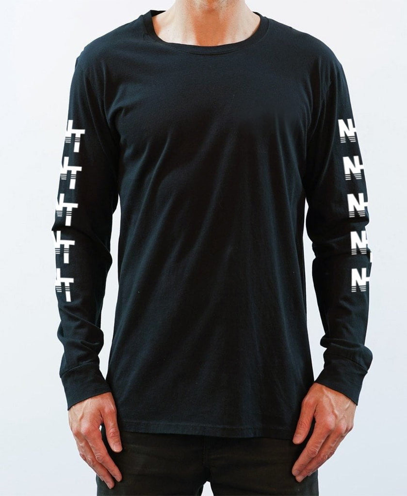 NT Target Long Sleeve Tee - Black - NEW