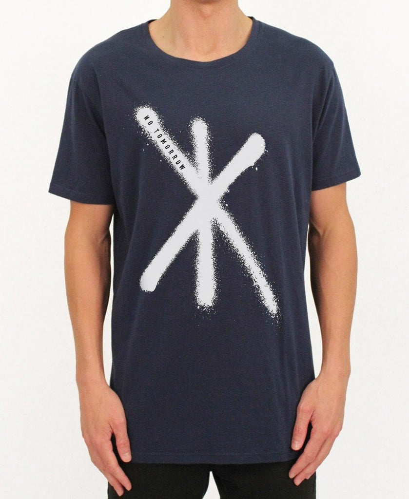 Vigilants Tee - Navy - NEW