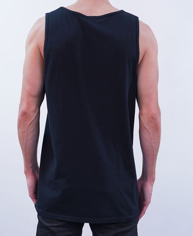 Ring Leader Singlet - Black