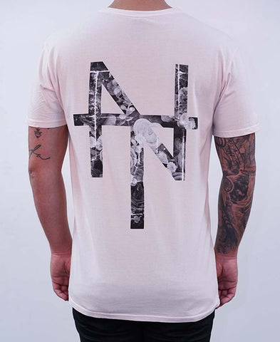 Serpent Tee - Peach