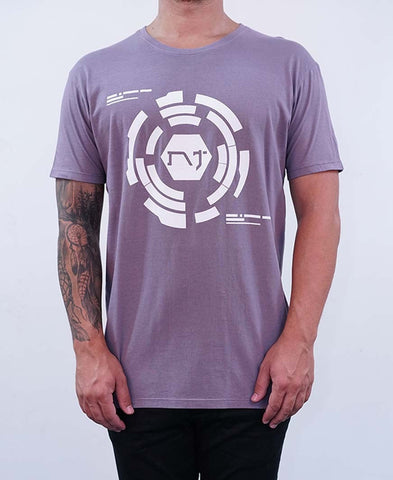 Central Tee - Charcoal