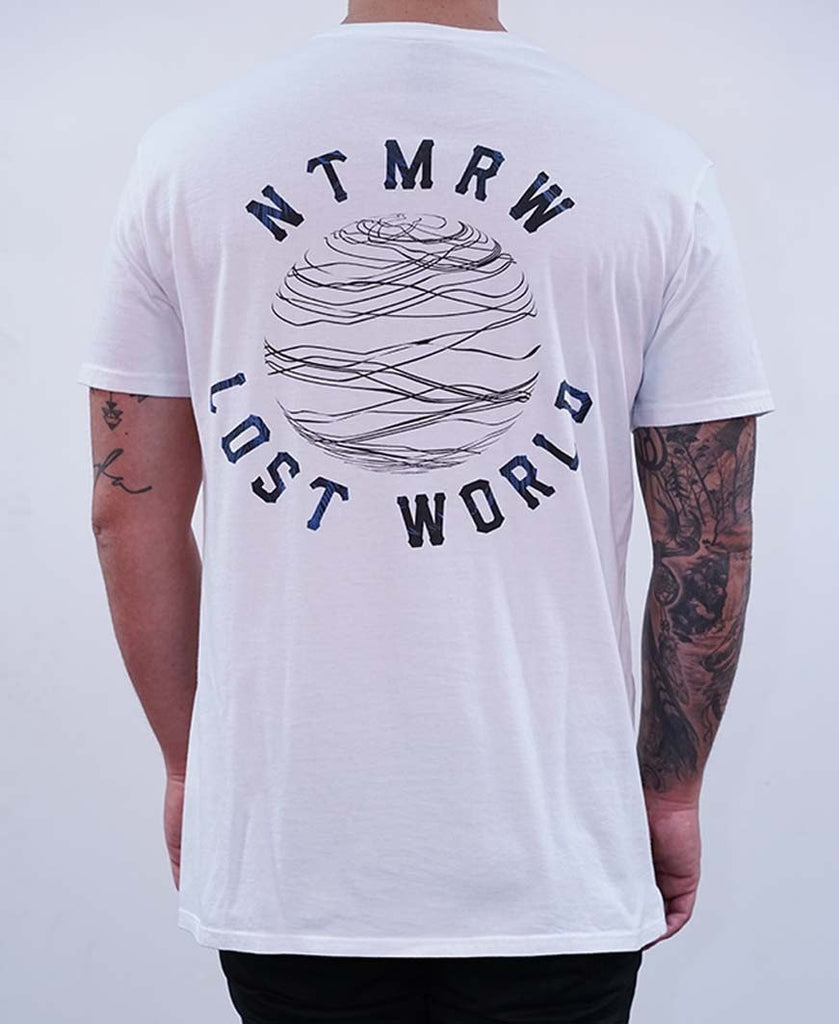 Somewhere Out There Tee - White