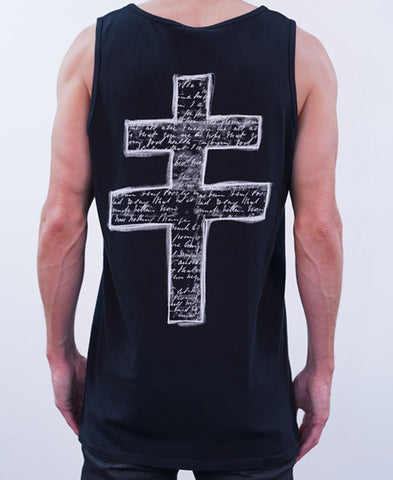 In The End Singlet - Black