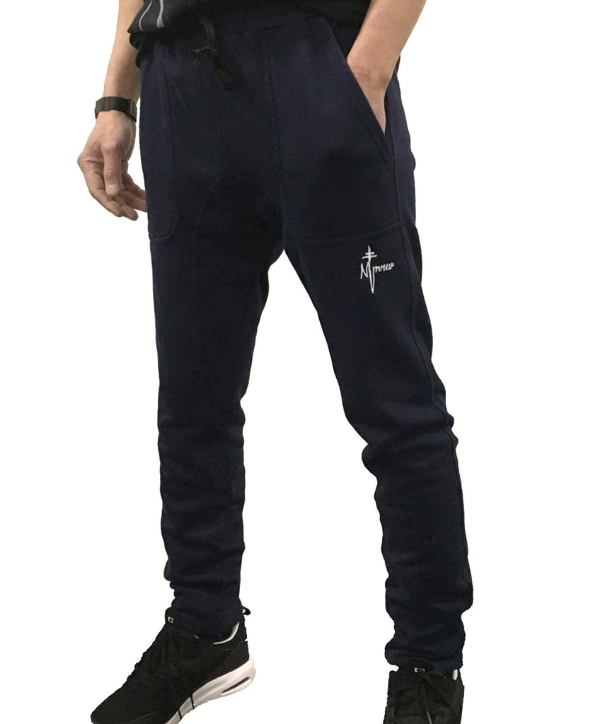 Signature Embroidered Trackpants - Ink
