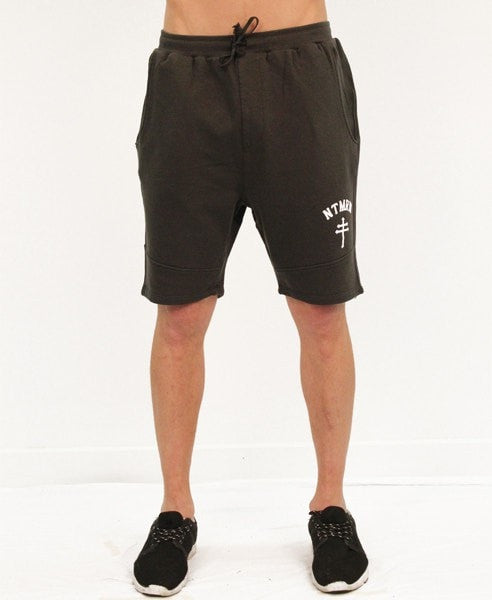 BASIC TRACK SHORTS - VINTAGE BLACK