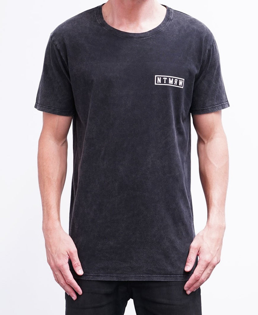BASIC TEE - ACID BLACK