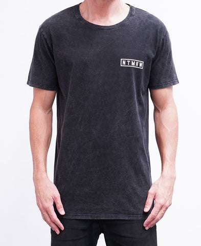 BASIC TEE - ACID GREY