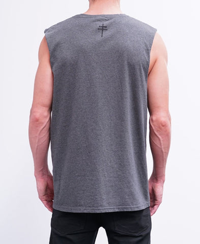 BASIC MUSCLE - CHARCOAL MARLE