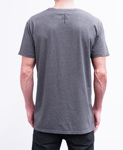 BASIC TEE - CHARCOAL MARLE
