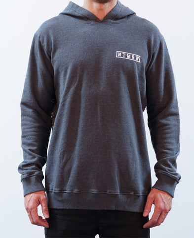 Quartz Raglan Crew Jumper - Black