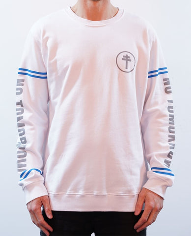 Deuces Crew Jumper - White
