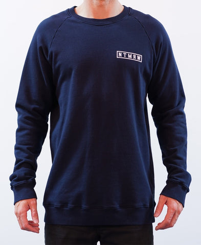 BASIC RAGLAN CREW JUMPER - INK