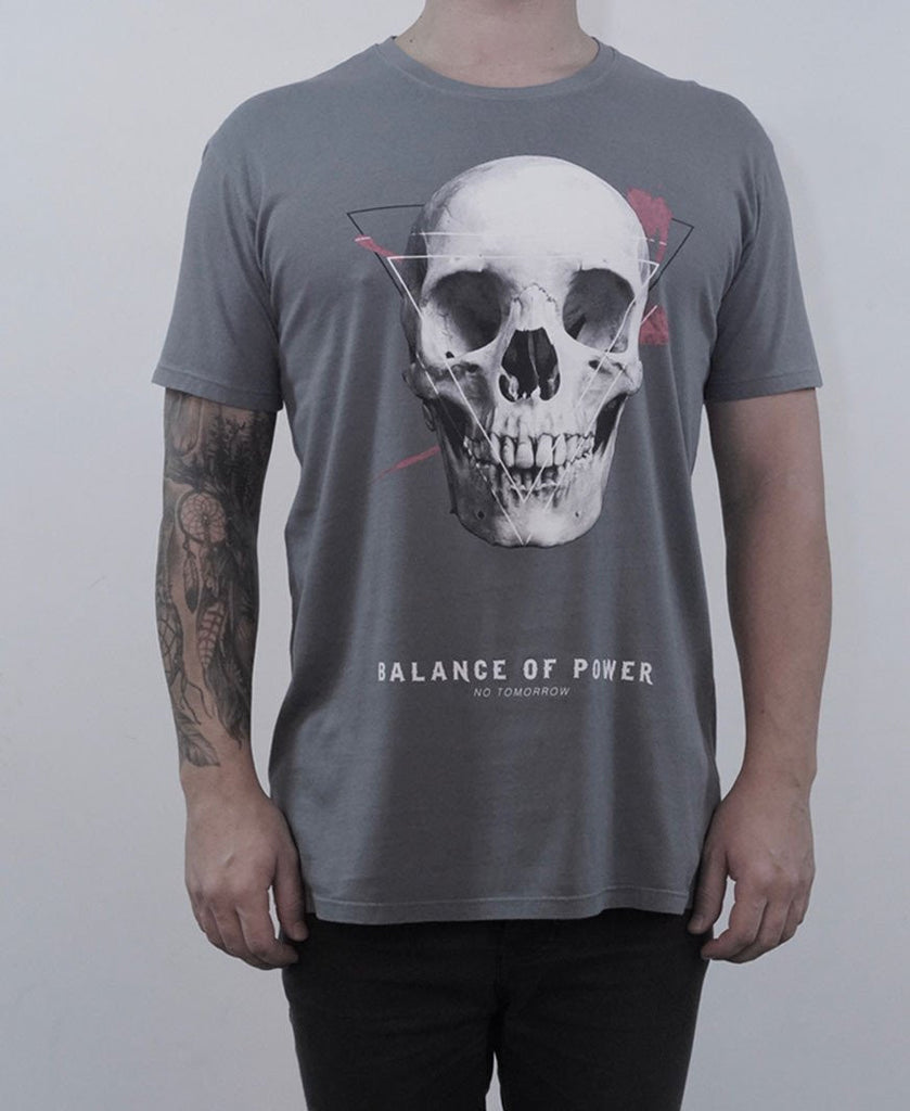 Balance Of Power Tee - Charcoal