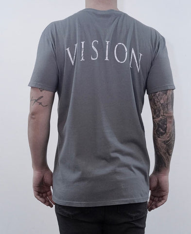 Vision Tee - Charcoal