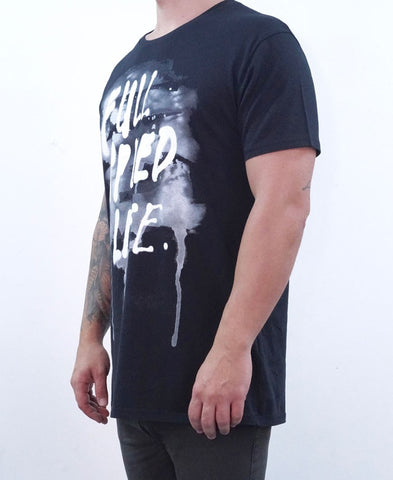 Full Speed Life Tee - Black