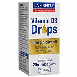 Vitamin D3 Drops 100% Natural