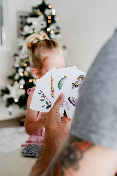 Christmas Snap & Go Fish by Modern Monty